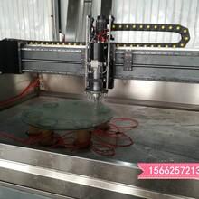 安徽太湖玻璃自动磨边机,异形玻璃磨边机,玻璃圆边机厂家图片