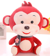 送女生节日礼品毛绒玩具公仔可爱猴娃娃玩偶