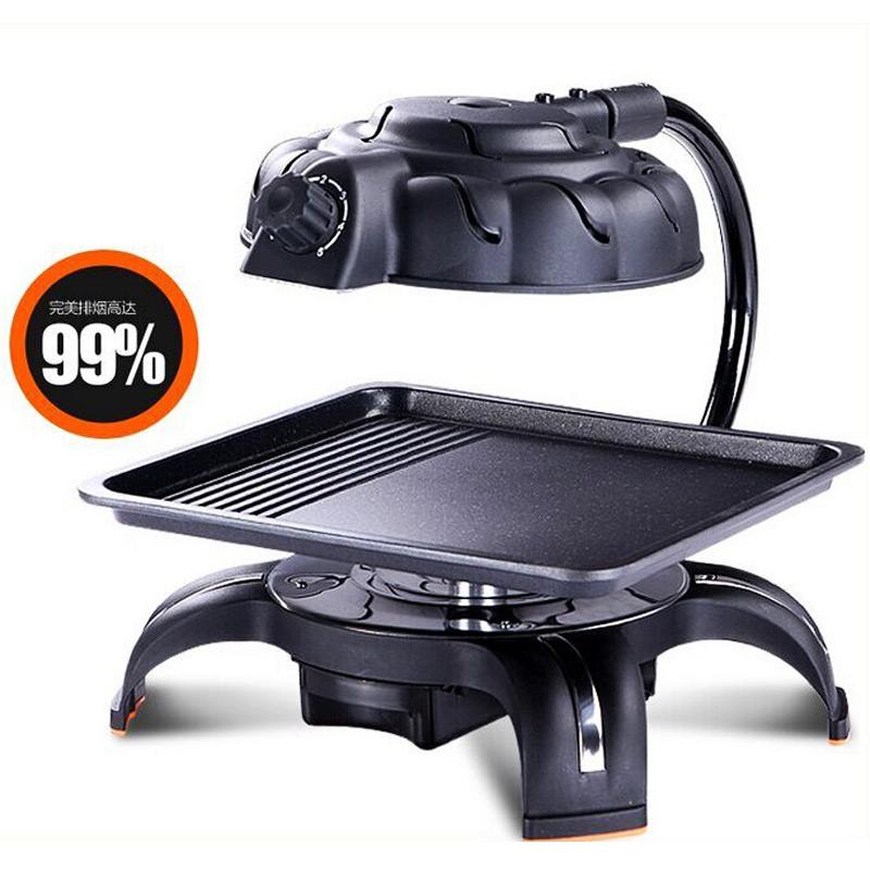 韓國3d無煙電燒烤爐紅外線電烤盤燒烤爐韓式家用室內鐵板烤肉機