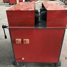 高效率双面钢材除锈机多功能钢管除锈机厂家发货