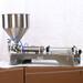 活塞灌裝機5000ml膏液定量灌裝機粘稠物料灌裝機