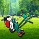 起草皮機13馬力鏟草皮機手推草皮切割機
