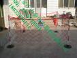 玻璃钢围栏专业制造商/高强度玻璃钢围栏/不锈钢伸缩围栏