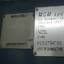 供:意大利MCM630高速高精密卧式加工中心图片