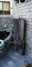 臨猗私家庭院水處理卡利凈魚池過濾器圖片