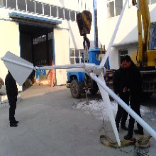 镇江定做产品低速风力发电机1千瓦小型风光互补发电图片