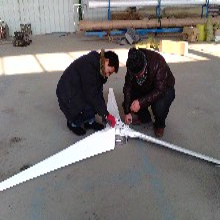 西城景观使用风力发电机2000瓦微风风力发电机质量保证图片