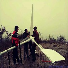 張家界微風發電220v風力發電機5千瓦草原安裝風力發電機圖片