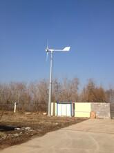 白銀直驅式風力發電機5000W220v風力發電機價格低質量優圖片