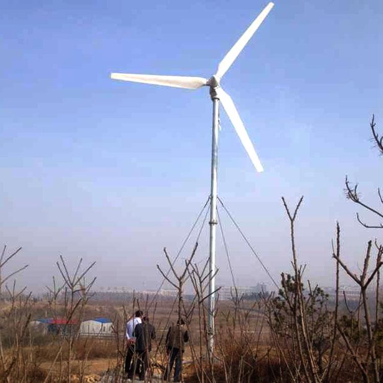 林口離網風力發電機 30千瓦性能穩定低噪音風力發電機
