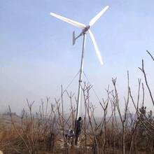 周宁产品低噪音风力发电机30kw民用风力发电机图片