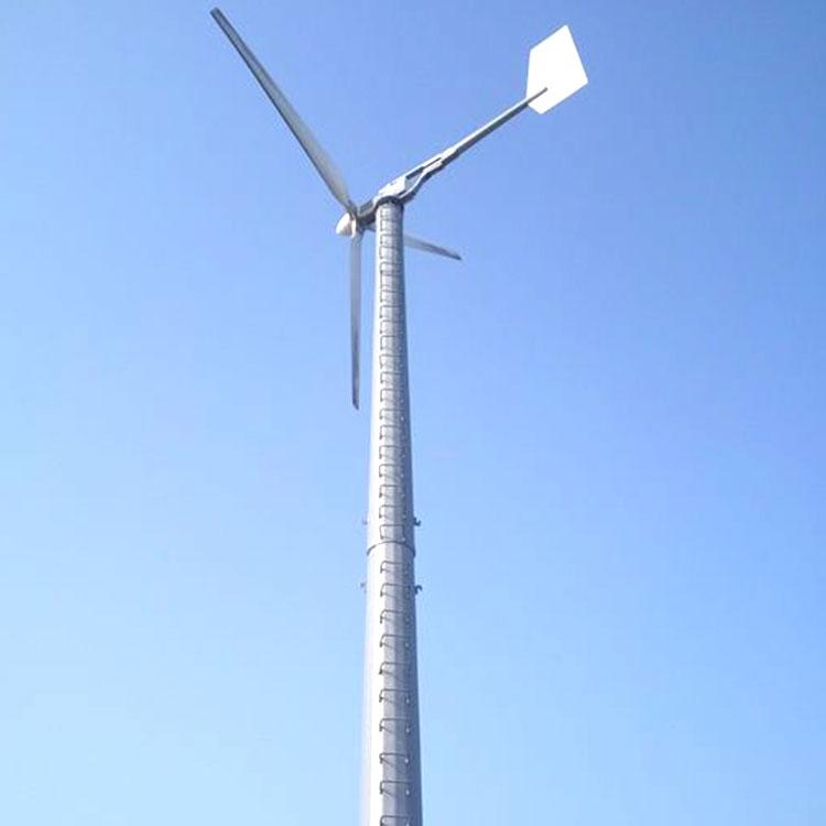 望都草原安装大型风力发电机30kw小型风力发电机