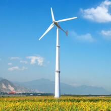 南和独立供电系统低噪音风力发电机30kw小型风力发电机图片