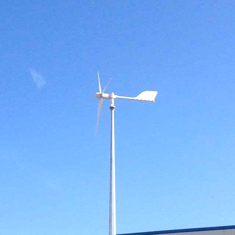 峰峰礦做工精細荒漠安裝風力發電機500瓦小型風力發電機