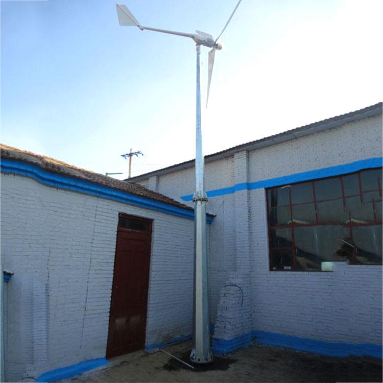 襄汾低震动运行离网风力发电机500瓦交流风力发电机