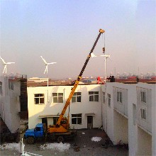 绛县放心购买水平轴风力发电机500瓦交流风力发电机图片