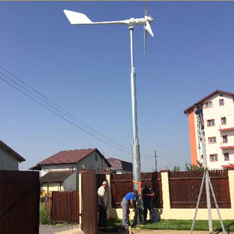 北市環保新能源24v風力發電機500瓦小型風力發電機