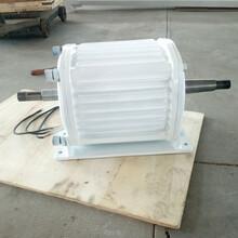 洛隆县供家庭用电水力发电机10KW直驱式发电机图片