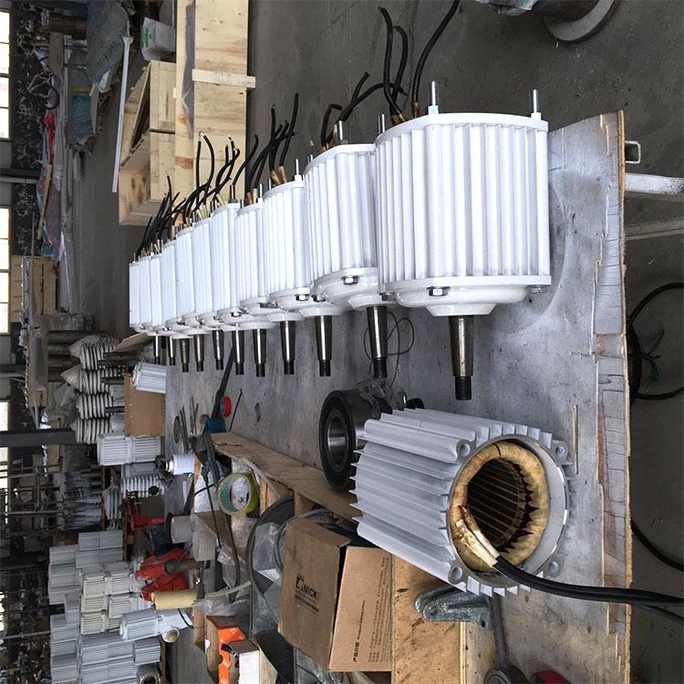 银州 放心采购交流发电机1kw进口轴承发电机