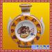 工艺中式黄釉陶瓷酒瓶定做青花瓷创意精美红酒瓶定做生产