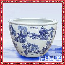 商务礼品陶瓷大缸景德镇高档门庭装饰品大缸