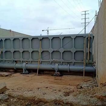 生产平板闸门水利闸门型号
