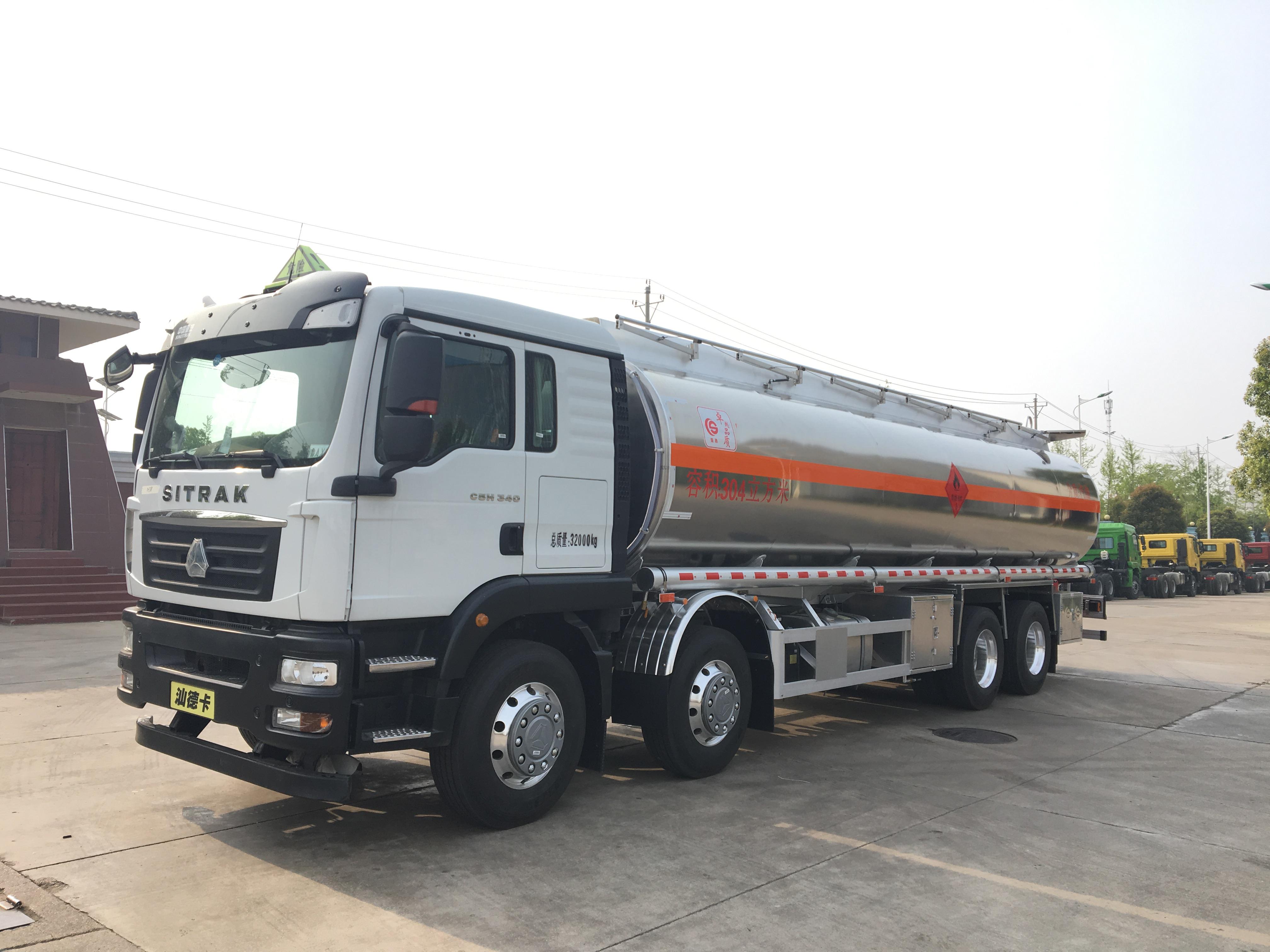 丰都国五东风天龙20吨铝合金油罐车厂家抢购
