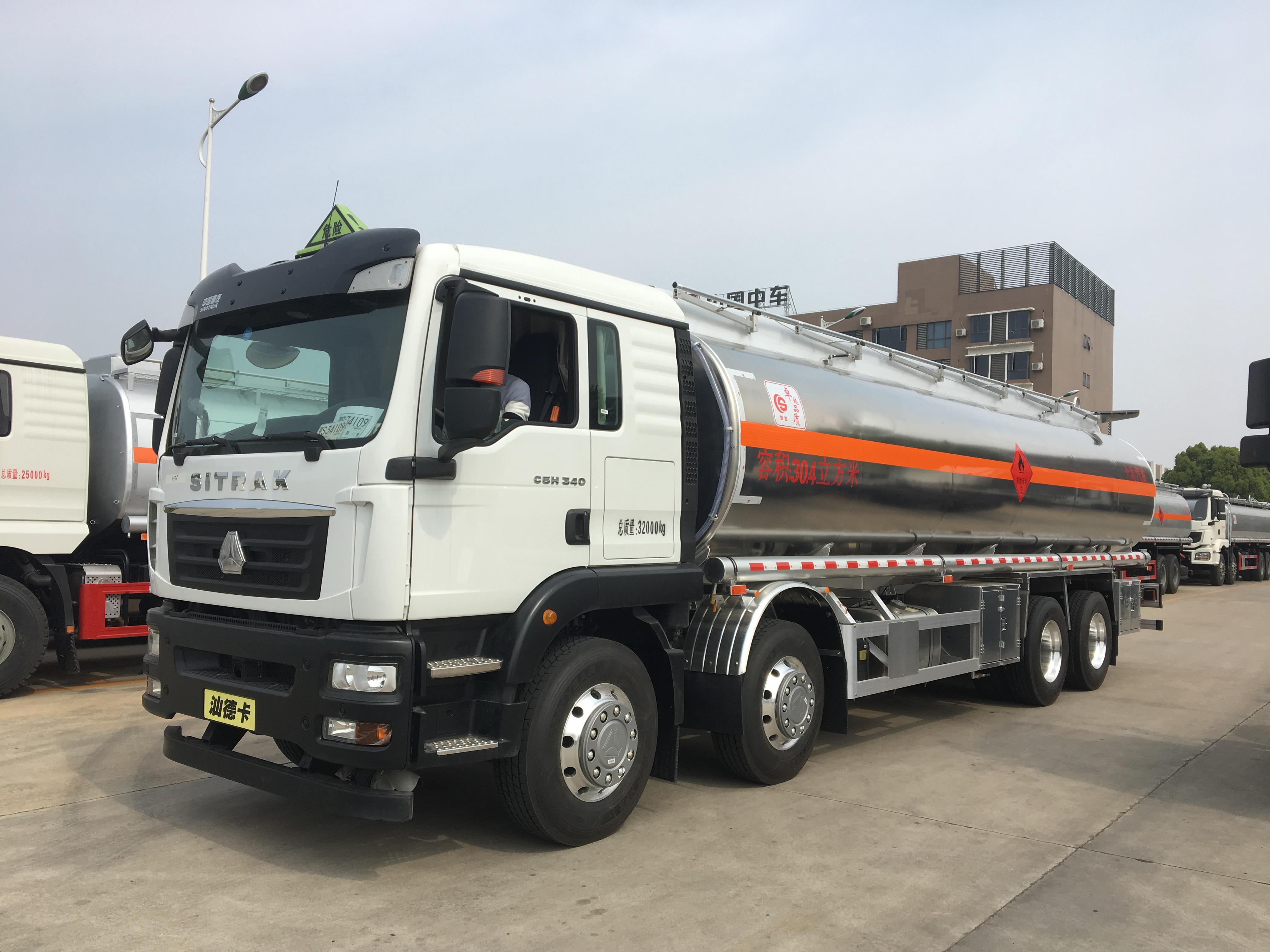 深圳国五重汽汕德卡20吨铝合金槽罐车现车亏本处理错过后悔一生