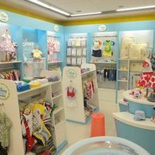 成都母婴用品店展柜/母婴展柜展示柜台/货柜定做工厂