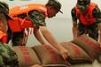 搶險抗洪吸水膨脹袋杭州防汛沙袋膨脹后重量20kg左右