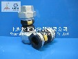 KST-L型丝扣双球体橡胶接头,丝扣橡胶接头安装方式
