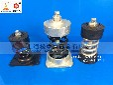 pp离心风机阻尼弹簧减震器,风机阻尼减震器价格松夏品牌