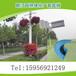 立体绿化节日庆典花柱装饰花盆灯杆绿化多层组合景观花盆