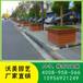 市政道路景观PVC微发泡树围艺术花箱户外井字架花槽批发