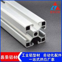 4040欧标工业铝型材工作台流水线专用铝材4080欧标铝材图片