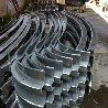 聚酯波浪型铝方通规格