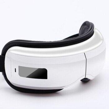 新款震动眼部按摩仪智能眼部按摩仪无线热敷护眼仪折叠眼部按摩器