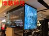 三星55寸3.5mm无缝液晶拼接屏,杭州银泰百货广告宣传展示