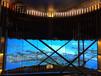 三星46寸超窄边液晶拼接屏,上海嘉定售楼展厅,全新弧形设?#25340;?#23631;方案,液压前维护支架方便维护,高清液晶拼接屏