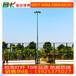 户外篮球场灯杆尺寸8米篮球场灯杆批发厂家现货直销