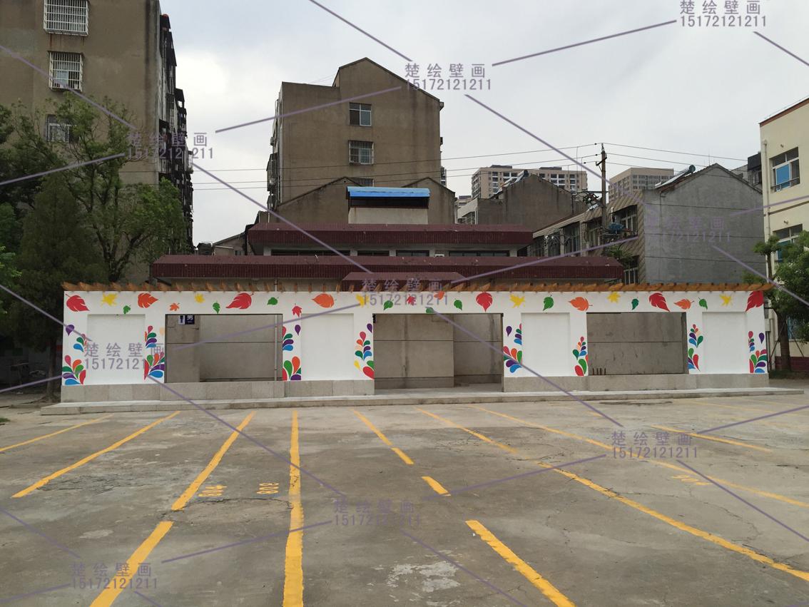 供应孝感串串店手绘画墙绘壁画文化墙体彩绘