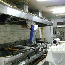 东城区厨房防火排烟管道加工,白铁皮排烟罩制作安装图片