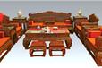 王义工艺美术大师大红酸枝沙发如意沙发家具厂家直销