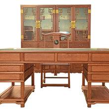 大红酸枝办公桌家具如何选择办公桌家具良性发展态势