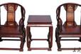 大红酸枝圈椅家具如何鉴别真伪仿古圈椅家具三件套