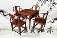 仿古红木茶台收藏要注意什么?红木茶台家具六件套红木茶台图片