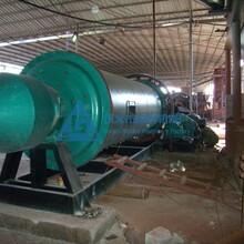煤矸石球磨机时产50吨煤矸石粉碎设备干式球磨机图片
