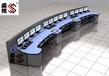 指挥调度台供应电力应急指挥中心监控台操作台
