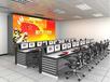 广州盛视直销厂家定制高端豪华操作桌现货监控室监控调度台管理中心安防工作台