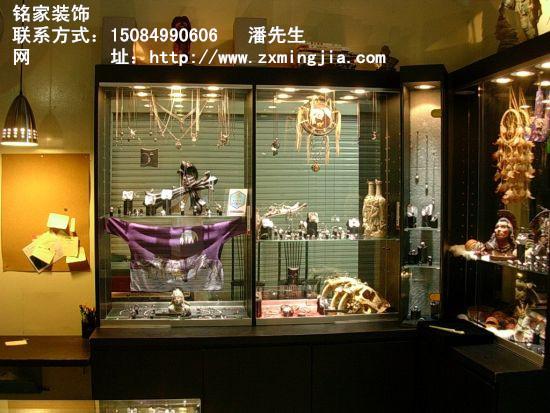 湖南长沙娃娃店装修设计,精品饰品店面设计找铭家装饰